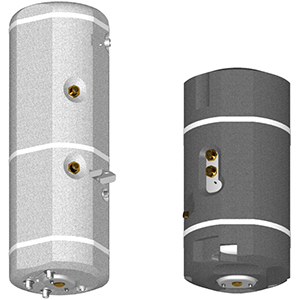 Boilers for wall-mounted heaters
