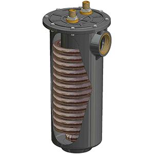 Serpentini alettati per condensatori e raffreddatori